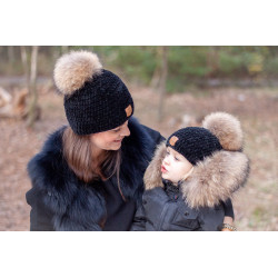 Zimní čepice dámská s...