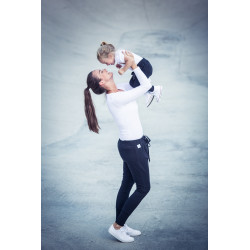 Tepláky Maminka & Dítě - černé