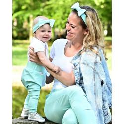 Tepláky Maminka & Dítě - mint