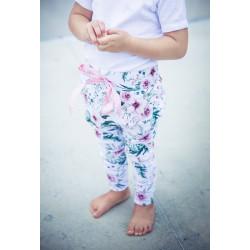 Dětské tepláky MyMake - květy