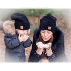 Zimní homeless čepice...