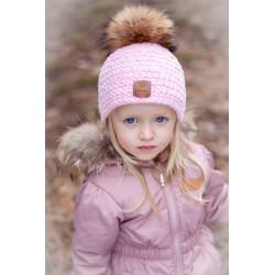 Zimní čepice dětská s...