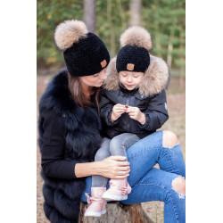 Zimní čepice Maminka & Dítě...