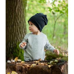Dětská čepice - černá