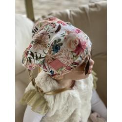 Letní šáteček na hlavu květiny